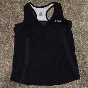 FILA workout tank L black